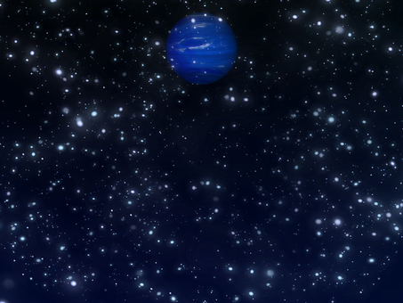Cosmic wallpaper puzzling planet Neptune ②