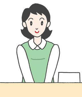 Receptionist .5
