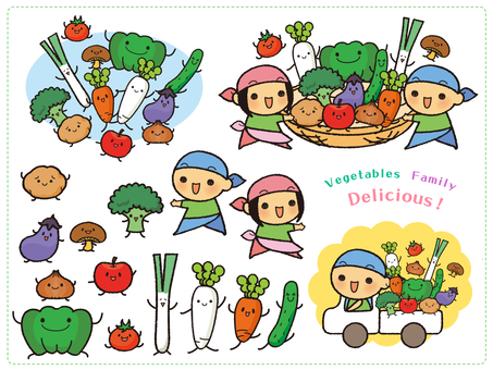 Variety of vegetable characters