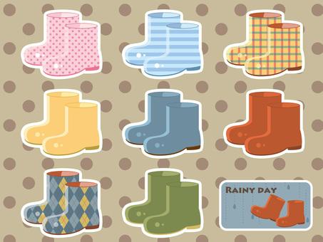 Rainy season - boots