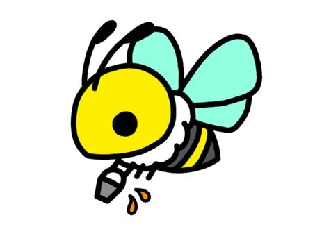 ミツバチ 運搬 黄