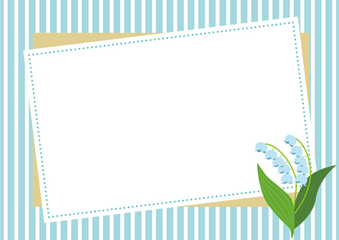 Lily of the lily Background material 2