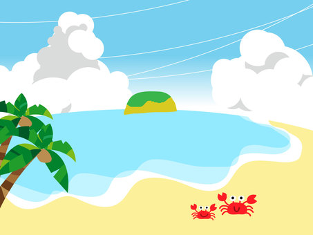 Beach (background)