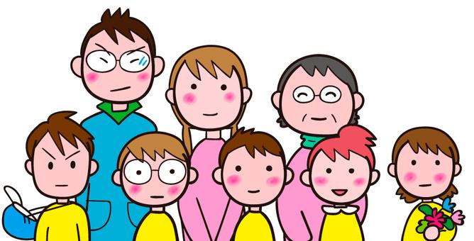 Children and teachers / nursery teachers
