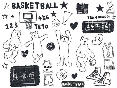 バスケットくま