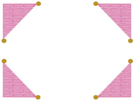 Pin cushion frame _ pink