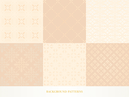 Background material set_ pattern 03