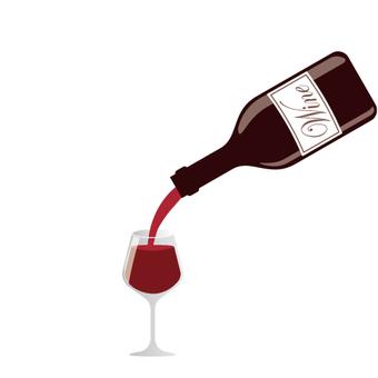 와인을 따를 곳