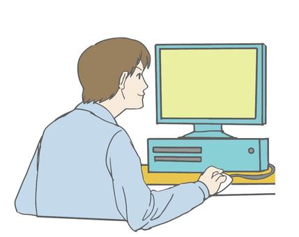 Personal computer and male