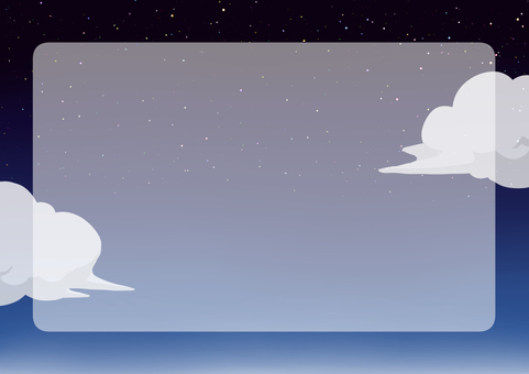 Sky night starry sky