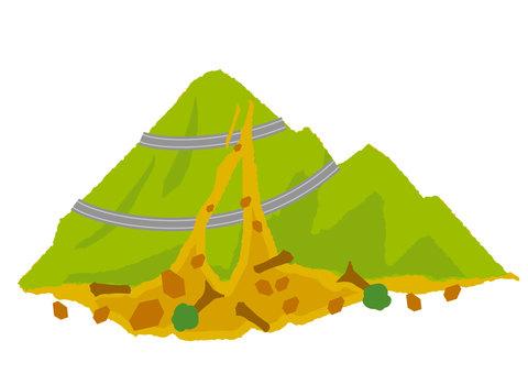 Mudslide (road)