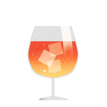 Drink warm color