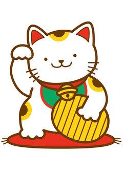 Lucky cat 4c