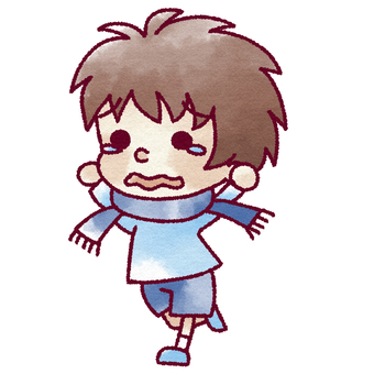 Running boy 3
