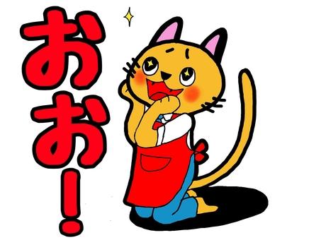 고양이 점장 감동