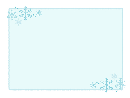 Simple winter frame