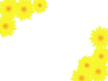 菊のフレーム