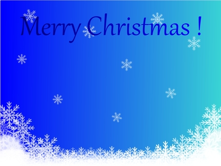 聖誕節背景(藍色標誌)
