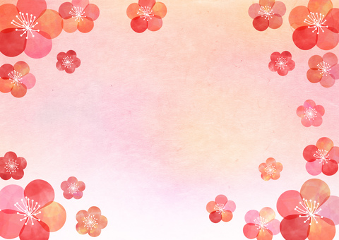 Plum _ Pastel _ Nanako _ Washi _ Background