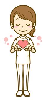 女(護士):B_ Heart 02 FS