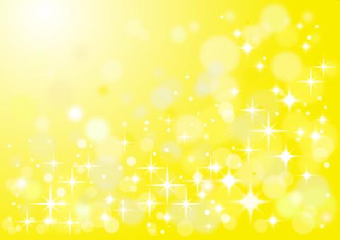 Glittering background yellow