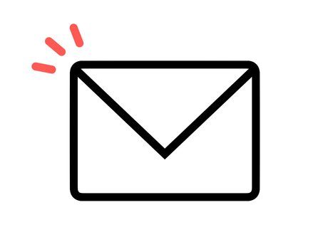 Mail mail mark letter icon