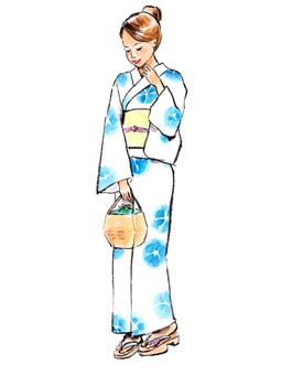 Yukata female 3