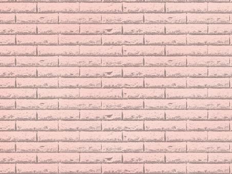 Brick background Pink