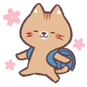 貓書包(藍色)