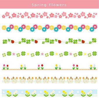 Spring line set