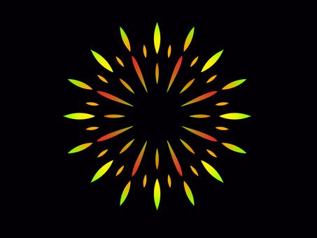 Fireworks (yellowish)