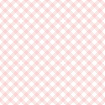 背景-チェックパターン1・ピンク