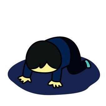 Depressed person 3