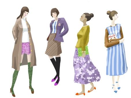 Fall fashion girls