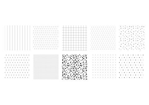 モノクロパターン