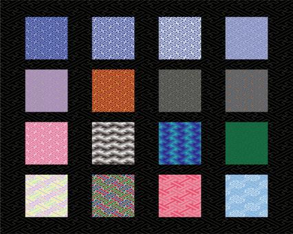 Saji pattern type set