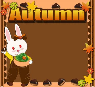 Usagi and autumn