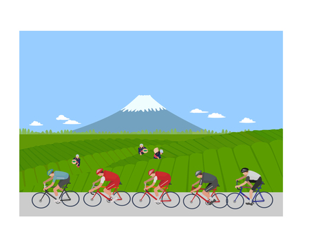 Tokyo Olympic Bicycle Race