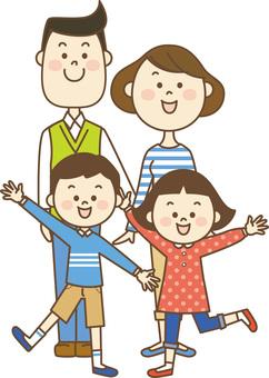 밝은 가족