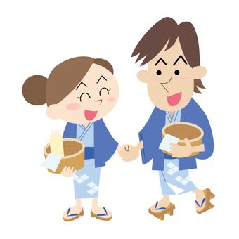 Couples onsen 01