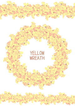 Yellow garland