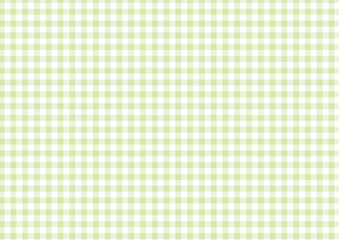 Early summer green ☆ classic check pattern ☆ background material