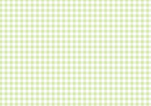 초여름의 그린 ☆ 단골 체크 무늬 ☆ 배경 소재