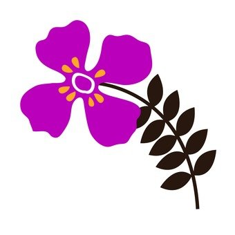 Red purple flower 4