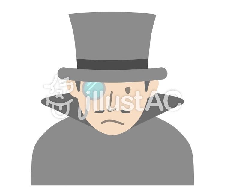 怪盗紳士1イラスト No 1246769無料イラストならイラストac