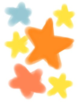 Child's Drawing Star