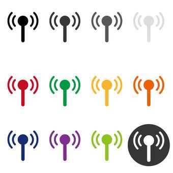 wi-fi antenna icon
