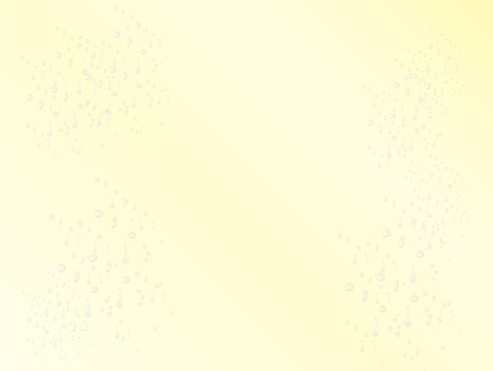 Glittering water drop yellow