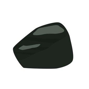 Raw stone of onyx