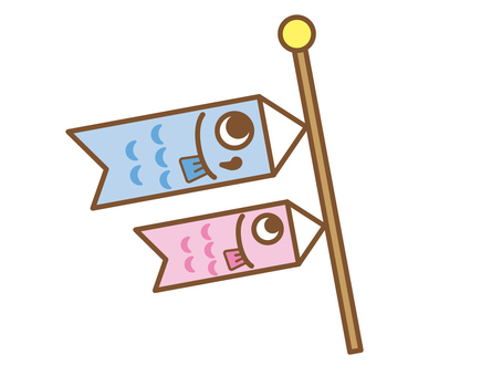Children's Day _ carp streamer